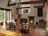 Great barn conversion in village of Barrou