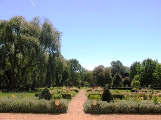gardens at Chateau de l'Islette
