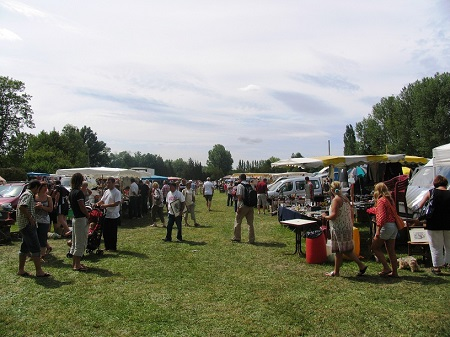 Brocante at La Celle Guenand