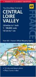 Loire Valley road map