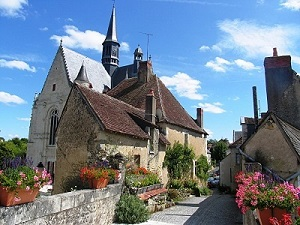 Village of Montresor one of the places to visit in the Loire Valley