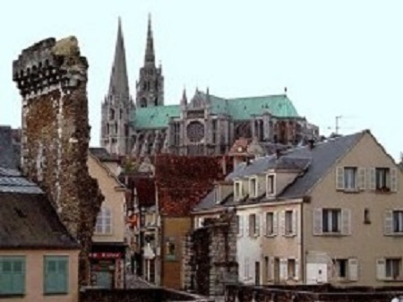 The town of Charte in  the Loire Valley