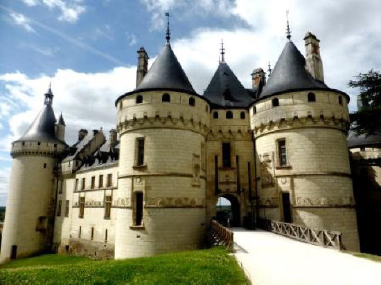 Chateau de Chaumont-sur-Loire in the Loire Vally in France