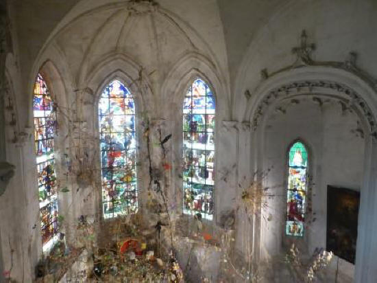The chapel at Chateau de Chaumont-sur-Loire in the Loire Vally in France
