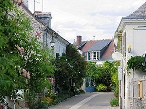 The pretty village of Chedigny