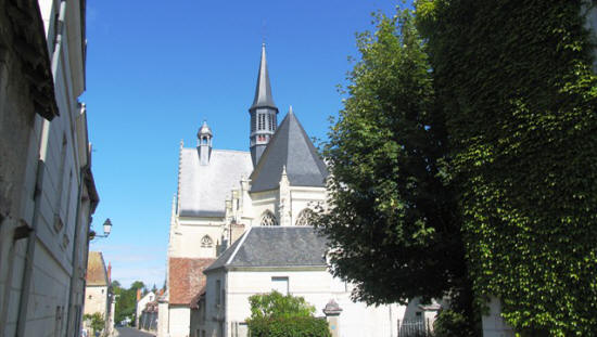 Saint John the Baptist church in Montresor