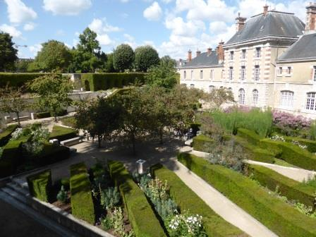 Bishop's garden Blois Loire Valley