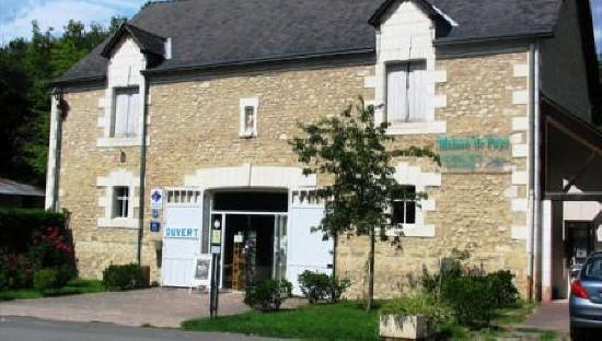 Tourist office in Montresor France