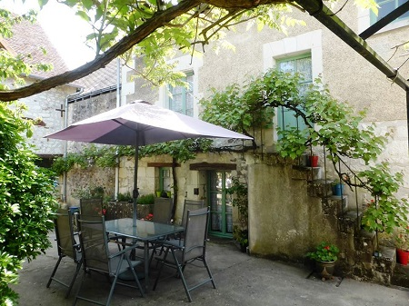 holiday rental cottage in the Loire Valley