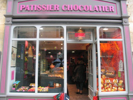patissier chocolatier im Chinon.France