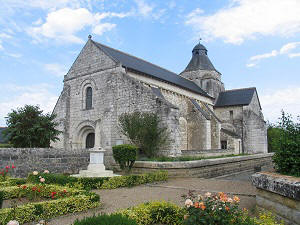 Church in the Loire Valley