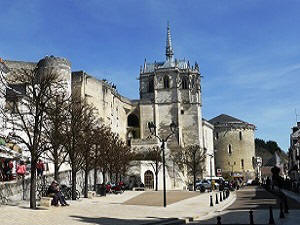 The town of Amboise in the Loire Valley