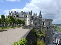 view of amboise chateau