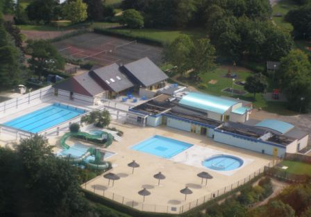 swimming complex at  Descartes in Indre et Loire, France