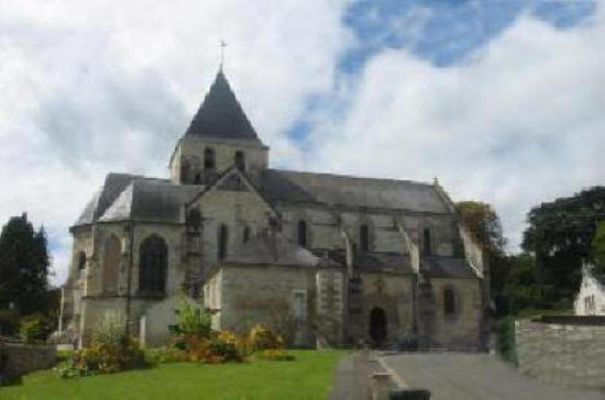 Saint Denis church in Amboise