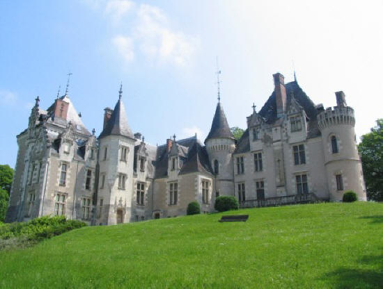 Chateau de Cande in the Loire Valley,France